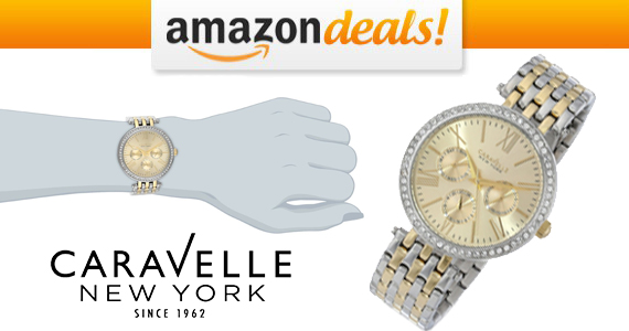 Get a $135.00 Caravelle New York Watch For Only $36.99!