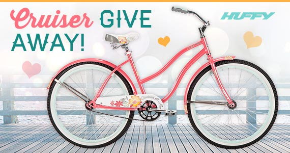 Win a Huffy Women's Cranbrook Cruiser Bicycle