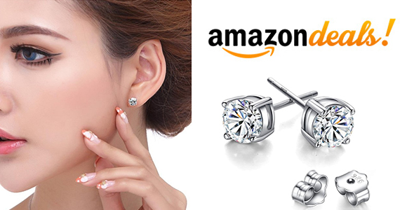 Get a Pair of Cubic Zirconia Stud Earrings For Only $7.99
