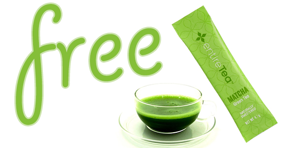 Free Sample of EntireTea Matcha Tea