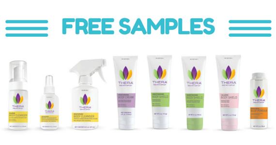 Free Sample Of THERA Skin Care