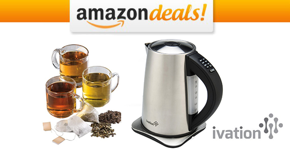 Save $80 OFF an Ivation 1.7 Electric Kettle