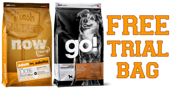 Free Trial Bag Of Pet Food