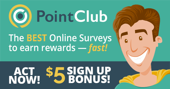 Make $5 Just For Signing Up With Point Club
