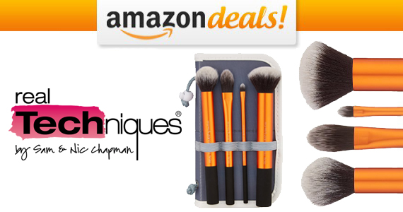 Get a Real Techniques Makeup Brush Set For Only $12