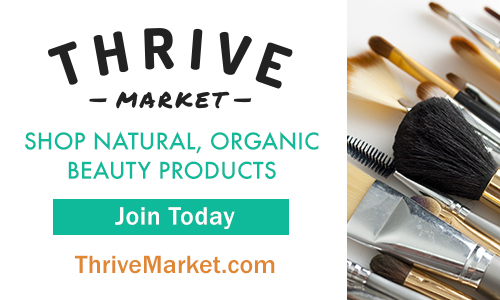 Get Great Deals on Beauty Products From Thrive Market