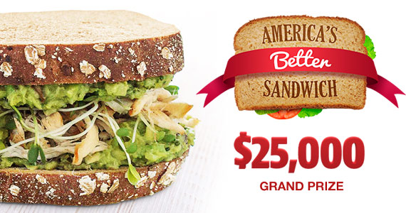 Win $25,000 For Your Sandwich Recipe