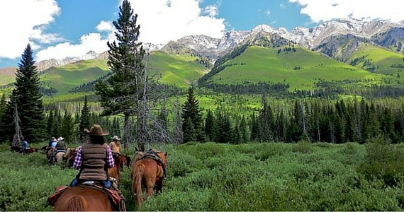 Win a Horseback Riding Trip For 2 In Banff