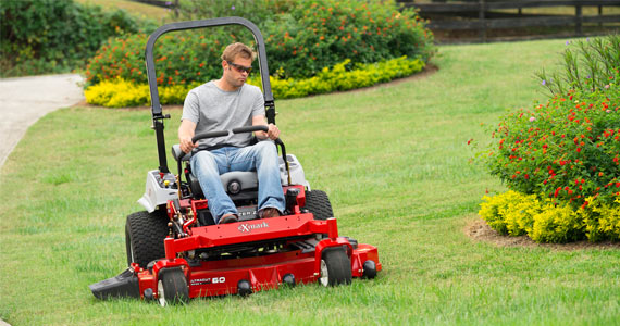 Win an Exmark Riding Lawn Mower