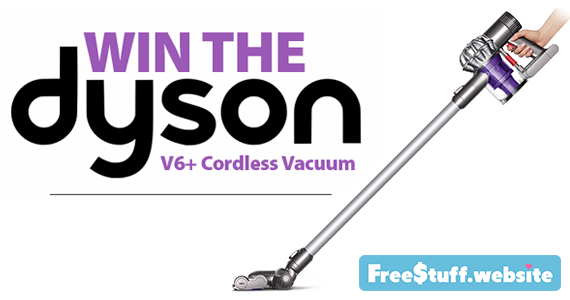 Win A Dyson V6+ Cordless Vacuum