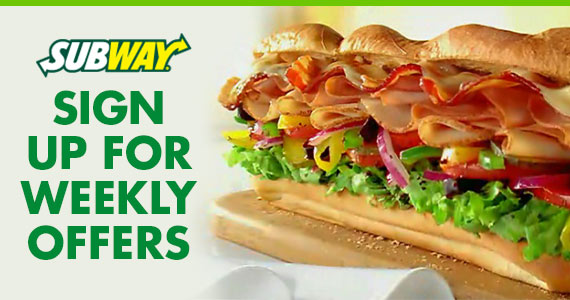 Buy a Drink & Get a FREE 6″ Sub From Subway