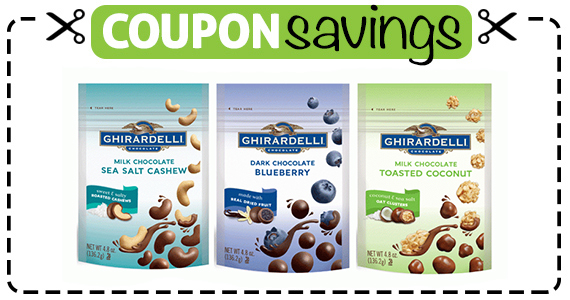 Save $1 off Ghirardelli Chocolate