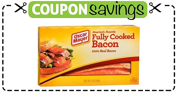 Save $1 off Oscar Mayer Fully Cooked Bacon