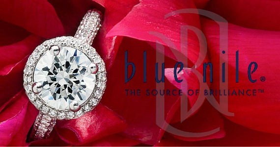 Win a Monique Lhuillier Blue Nile Engagement Ring