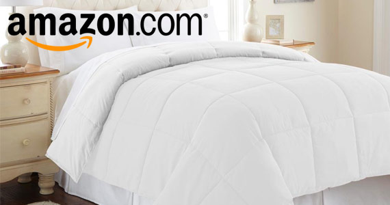 Get a Down Alternative Queen Comforter For Only $29.99