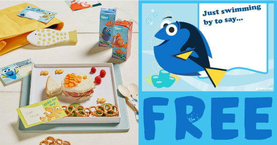 Free Printable Finding Dory Lunch Notes