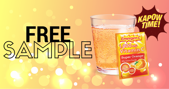 FREE Sample of Emergen-C Original and Emergen-C Super Fruit