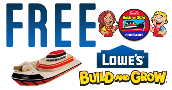 Lowe's Build and Grow: Fire Boat