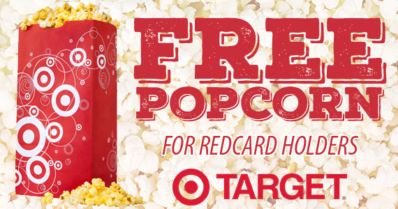 Free Popcorn For Target REDcard Holders
