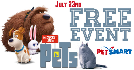 The Secret Life of Pets In-Store Event at PetSmart