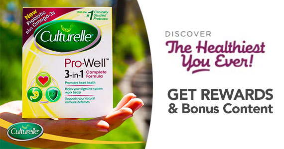 Get Rewards From Culturelle and Discover The Healthiest You Ever
