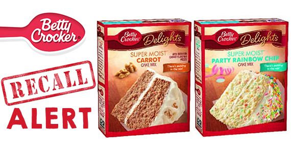 RECALL ALERT: Betty Crocker Cake Mixes
