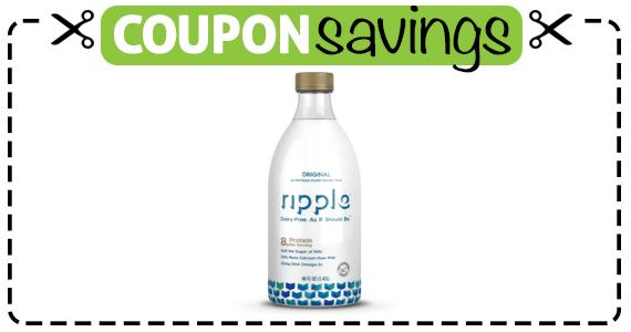 Save $1 off Ripple Foods Bottle