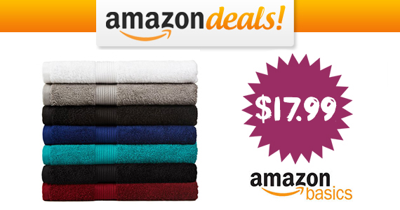 Get a Cotton 6-Piece Towel Set For $17.99