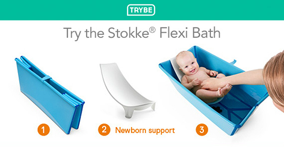 Get a Stokke Flexi Bath For Free From Trybe