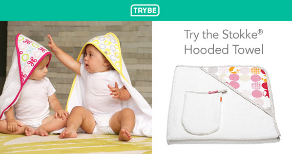 Get a Free Stokke Hooded Towel From Trybe