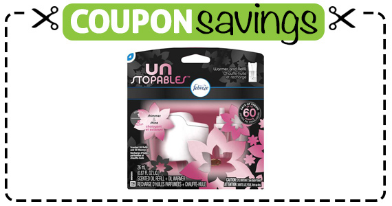 Save $2 off Unstopables Scented Oil Refill