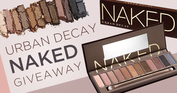 Win an Urban Decay Naked Eye Shadow Palette
