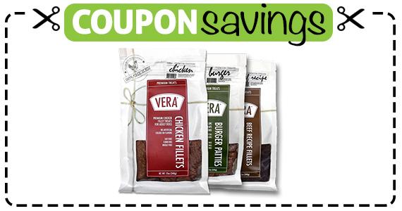 Save $2 off Vera Premium Dog Treat