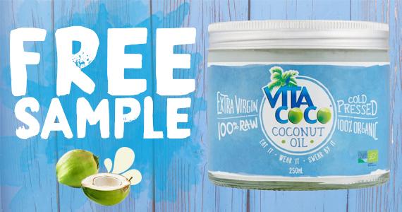 Get a Free Sample of Vita Coco Coconut Oil
