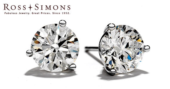 Win a Pair of Dazzling Diamond Earrings