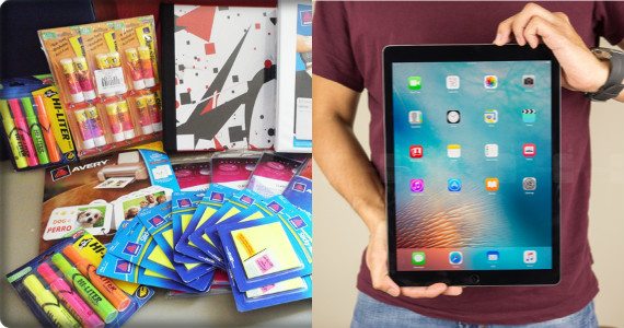 Win an iPad Pro and Avery School Supplies