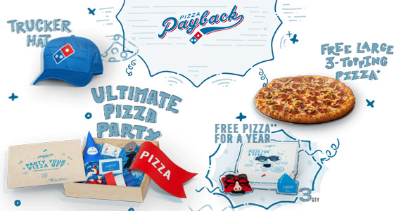 Win Free Pizza and More From Dominoes