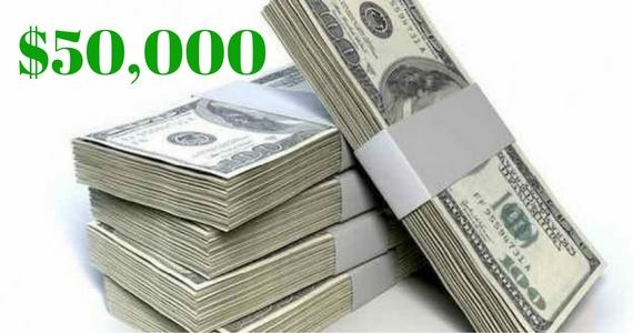 Win $50,000 Cash