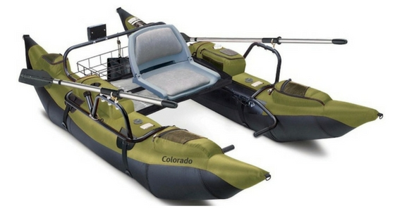 Win Your Own 9′ Colorado Pontoon Boat
