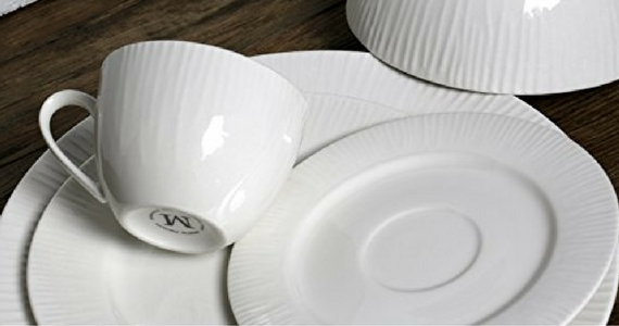 Win a Melange Nantucket Weave Dinnerware Set