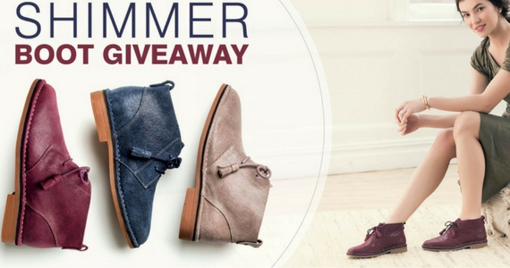 Win a Pair of Hush Puppies Shimmer Boots