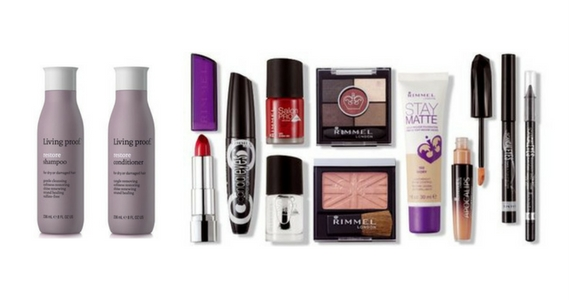 Win a Year's Supply of Rimmel + Living proof Hair Care