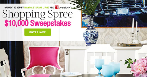 You Could Be The Winner Of a $10,000 Shopping Spree