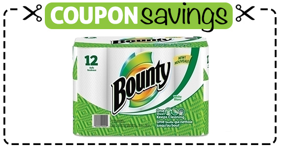 Save $1 off Bounty Paper Towels