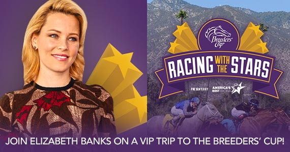 Win a VIP Breeders' Cup Experience With Elizabeth Banks