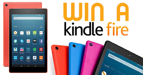 Win a Kindle Fire HD Tablet
