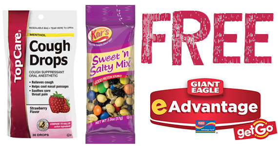Free Cough Drops & Trail Mix From Giant Eagle