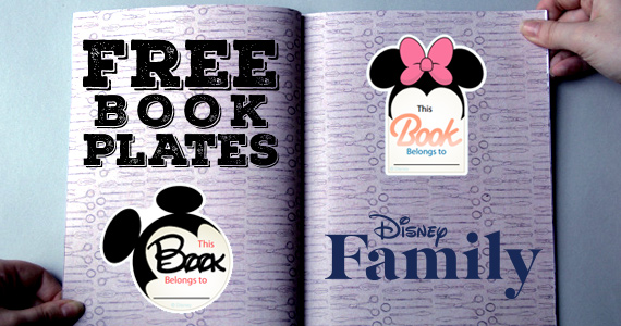 Free Mickey & Friends Bookplates