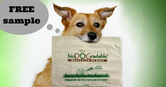 Free Sample of BioDOGradable Bags