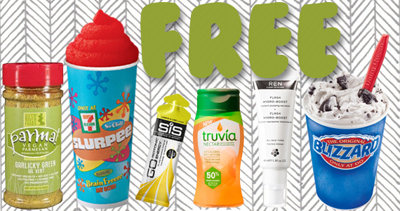 Free Sample Roundup Week of 8/8